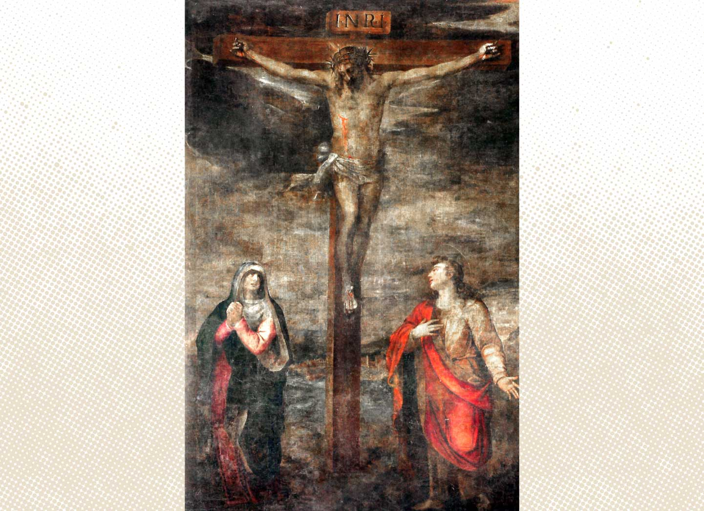 ¿Pintó Angelino de Medoro  el tríptico del convento franciscano?